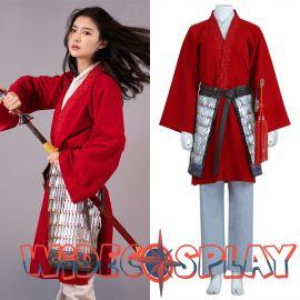 2020 Movie Mulan Cosplay Costume