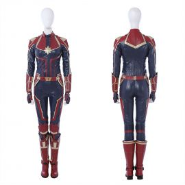 2019 Captain Marvel Costume Carol Danvers Cosplay Costume
