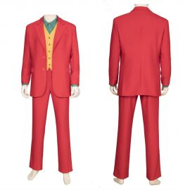 2019 Movie Joker Cosplay Costume