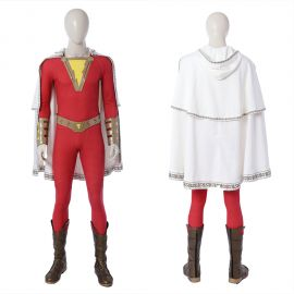 2019 Shazam Costume Billy Batson Cosplay Costume