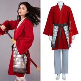2020 Movie Mulan Cosplay Costume