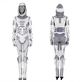 Ant-Man and the Wasp Ghost Cosplay Costume Deluxe