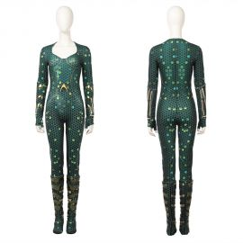 Aquaman Mera Cosplay Costume Mera Jumpsuit