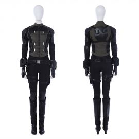 Avengers Infinity War Black Widow Costume Cosplay Outfit