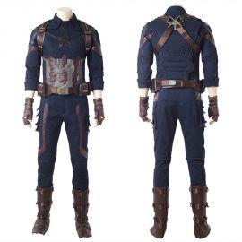 Avengers Infinity War Captain America Cosplay Costume Deluxe