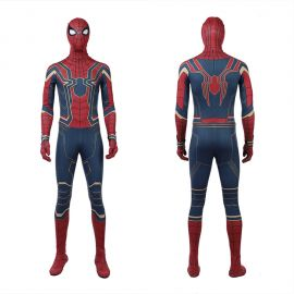Avengers Infinity War Spider-Man Cosplay Costume