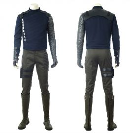Avengers Infinity War Winter Soldier Cosplay Costume
