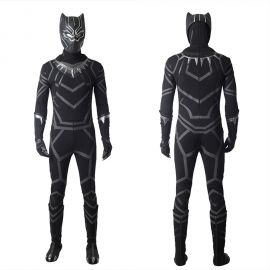 Black Panther Cosplay Costume T'Challa Costume