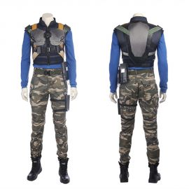 Black Panther Erik Killmonger Cosplay Costume