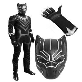 Civil War Black Panther Cosplay Costume