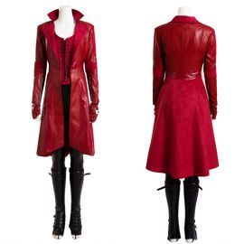 Civil War Scarlet Witch Cosplay Costume