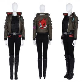 Cyberpunk 2077 Female V Cosplay Costume