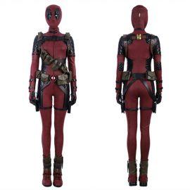 Deadpool Female Cosplay Costume Deluxe Version
