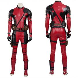 Deadpool Wade Wilson Cosplay Costume Deluxe