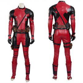 Deadpool Wade Wilson Cosplay Costume Deluxe