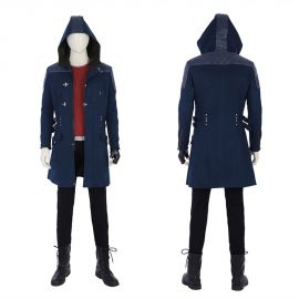 Devil May Cry 5 Nero Cosplay Costume Outfit