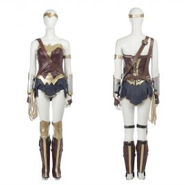 Diana Prince Wonder Woman Cosplay Costume Deluxe