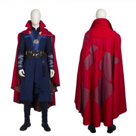 Doctor Strange Cosplay Costume Stephen Vincent Costume Deluxe