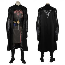 Fire Emblem Three Houses Male Byleth Cosplay Costume Deluxe