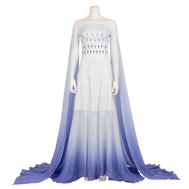 Frozen 2 Elsa Dress Cosplay Costume