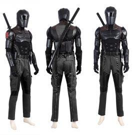 G.I.Joe Retaliation Snake Eyes Cosplay Costume