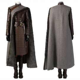Game of Thrones 8 Arya Stark Cosplay Costume Deluxe