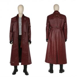 Guardians of the Galaxy 2 Star Lord Costume Long Coat Version