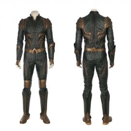 Justice League Aquaman Cosplay Costume Deluxe Version