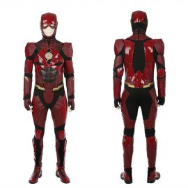 Justice League The Flash Cosplay Costume Deluxe Version