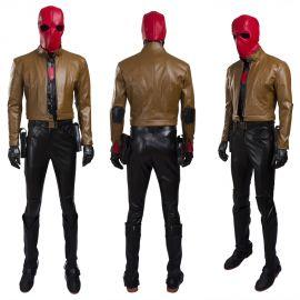 Red Hood Jason Todd Cosplay Costume