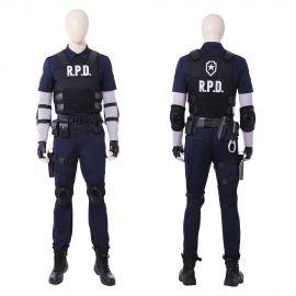 Resident Evil 2 Leon Cosplay Costume