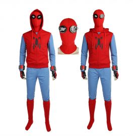 Spider-Man Homecoming Tom Holland Spiderman Cosplay Costume