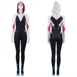 Spider-Man: Into the Spider-Verse Spider Gwen Cosplay Costume