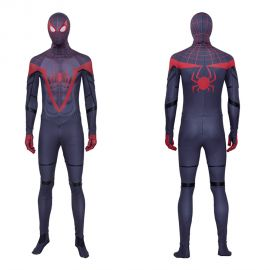 Spider-Man Miles Morales Cosplay Costume