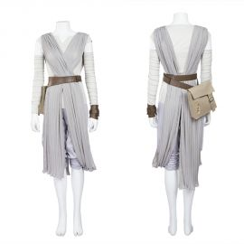 Star Wars 7 The Force Awakens Rey Cosplay Costume
