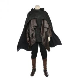 Star Wars 8 The Last Jedi Skywalker Luke Cosplay Costume