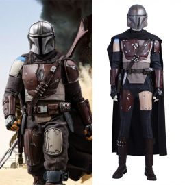 The Mandalorian Cosplay Costume Deluxe