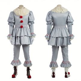 Stephen King's It Pennywise Clown Cosplay Costume
