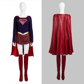 Supergirl Cosplay Costume Fancy Dress
