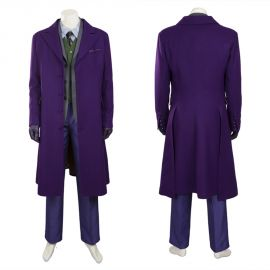 The Dark Knight Joker Cosplay Costume Outfit