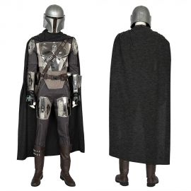 The Mandalorian Cosplay Costume Deluxe Outfit