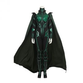 Thor Ragnarok Hela Cosplay Costume Outfit