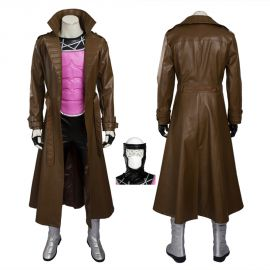 X-Men Gambit Cosplay Costume Remy Etienne LeBeau Costume